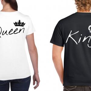 King_Queen_fehér_fekete